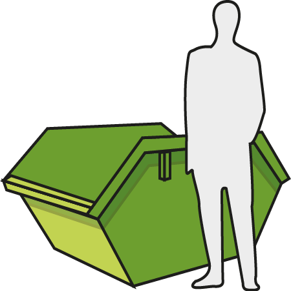 3 Cubic Yard (Midi Skip)